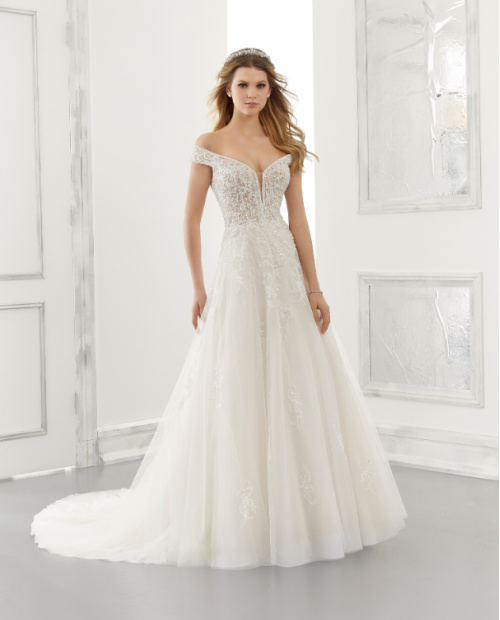 Alessandra Morilee 2193 wedding dress