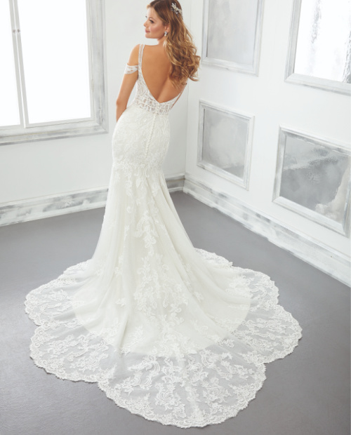 Betrix morilee wedding dress back