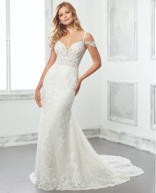 Beatrix morilee wedding dress front