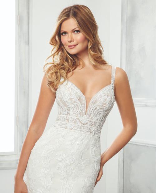 Beatric morilee wedding dress top