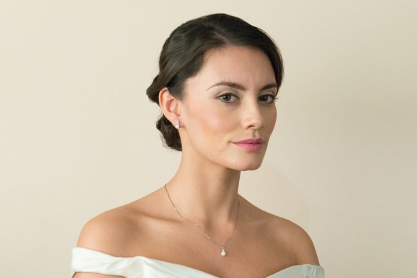 classic pearl earrings ivory and co