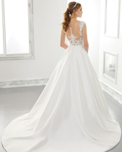 Adele 5867 Morilee wedding dress