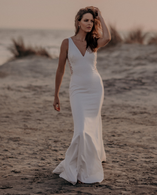 Riverton Tiffanys wedding dress front