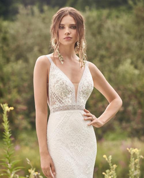 Lillian west 66136 Dallas wedding dress